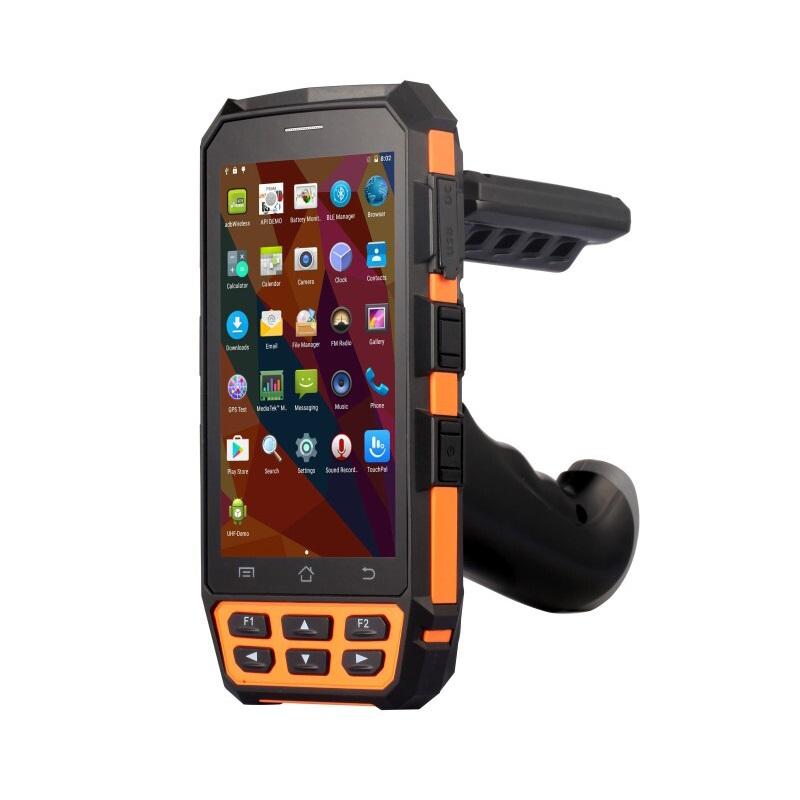 Мобильный RFID UHF+Barcode считыватель (ТСД) на Android