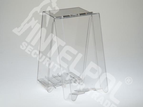 Захисний сейфер прозорий SF5014 Health & Beauty із замком NORMAL LOCK