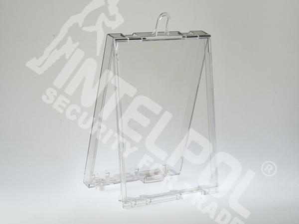 Захисний сейфер прозорий SF5019 Single DVD із замком NORMAL LOCK