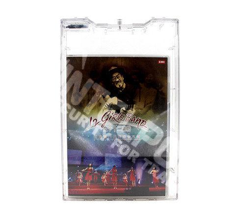 Защитный сейфер прозрачный SF5022 Doble DVD с замком NORMAL LOCK